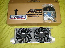 Double pass AFCO heat exchanger / intercooler fans Supercharged 12-15 Camaro ZL1