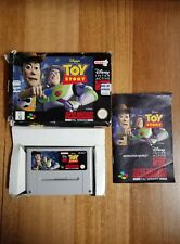 Super nintendo snes disney toy story pal game in box