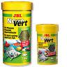 JBL NovoVert - Herbivorous Fish Food Flakes 100ml 250ml Vegetable