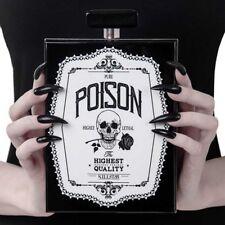 Killstar Gothic Goth Punk Handtasche Schultertasche - Pure Poison Clutch