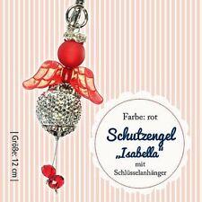 "Bastel-Set - Engel ""Isabella"" rot-platin - ca. 12 cm"