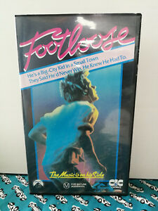 Footloose VHS Kevin Bacon Lori Singer 1984 Music Cult Classic