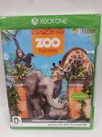 ZOO TYCOON Xbox One NEW & Sealed