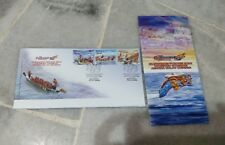 Malaysia 2008 Dragon Boat Championship Perahu Naga stamp FDC brochure