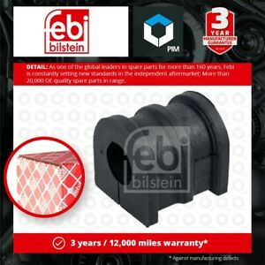 Anti Roll Bar Bush fits NISSAN MICRA K12 1.0 Front Left or Right 03 to 10 CG10DE