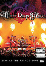 THREE DAYS GRACE: Live At The Palace 2008 (DVD, 2008, Explicit) New / Sealed