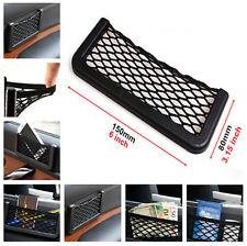 Storage Tuck Net String Bag Phone Holder Ticket Pocket Organizer For Audi A1 2 3