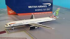 Gemini Jets 1:400 Boeing 757-200 British Airways G-BPEL 'Animals & Trees'