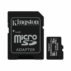 32Mbps // Class 4 Professional Kingston 16GB MicroSDHC Verykool i607 with custom formatting and Standard SD Adapter!