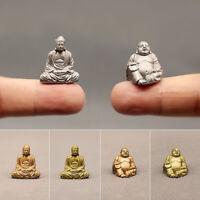 Miniatur Maitreya Buddha Figur Statue Gnom Feng Shui Ornament Home Deko Geschenk