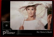 THE PRISONER, VOLUME 2 - Card #21 - Her Name is Death - Factory Ent. 2010
