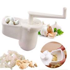 Plastic Garlic Ginger Grinder Crusher Press Mashed Cutter Mincer Kitchen Tool