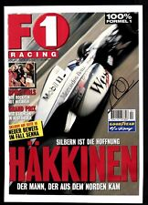 Mika Häkkinen Original Signiert Formel 1 Weltmeister+G 18482