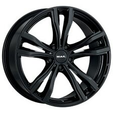 "CERCHI LEGA MAK BMW X6 Hybrid Staggered HY-X-HY X-MODE GLOSS BLACK 20"" 11J 5X120"