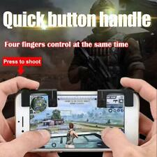 2pcs Mobile Phone Physical Joysticks Assist Tools for STG FPS TPS Shooting Games