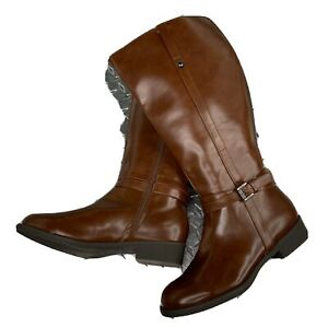 American Eagle Riding Boot 178088 Ankle Harness Brown Size 7.5 W