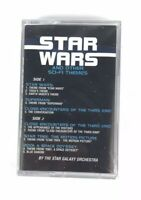 NEW Star Wars & Other Sci-Fi Themes Cassette SEALED 1996 Star Galaxy Orchestra