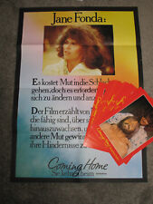 Coming home - sie kehren heim   16 Aushangfotos + Plakat - Jane Fonda Jon Voight