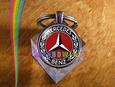 Handmade Mercedes Benz Car Keychain Key Chain Case Key Ring Car Gift #1