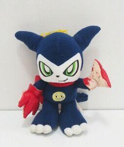 "Impmon Digimon Banpresto 2001 *USED* Plush 8"" Stuffed Toy Doll Japan Rare"
