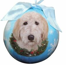 "Goldendoodle-Shatterproof Ball Ornament-3""- by E & S Pets #134"