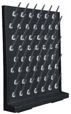 Laboratory drying rack, Peg Board, Rack Polypropylene, 52 Holders Complete Kit