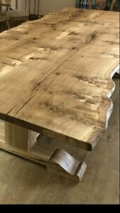 Live Edge Tables In Elm,Oak,Mappa Walnut Made To Order Tell us your Requirements