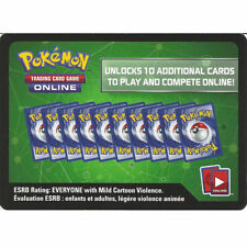 EMAIL ONLINE MESSAGE CODE Pokemon 10X Steam Siege Booster Pack UNUSED PTCGO