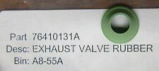 DUCATI 76410131A EXHAUST VALVE RUBBER SEAL NOS OEM