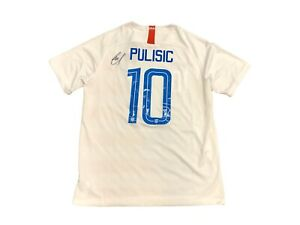 Christian Pulisic Signed Men's National Team USA Jersey JSA