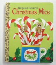 LITTLE GOLDEN TREASURES BOARD BOOK ~ RICHARD SCARRY'S CHRISTMAS MICE ~ 2004