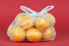 2000 Knotenbeutel Plastiktüten Tragebeutel für 5kg transparent geblockt