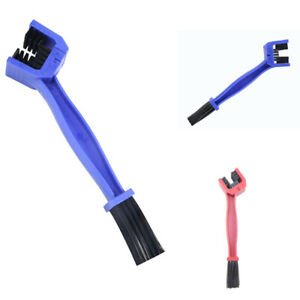 Motorcycle Bicycle Chain Wheel Cleaning Tool Double-End Brush Bike Cleaner Part