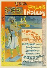 AP68 vintage 1994 francese migliori tè indiano Pubblicità Poster Cartoncino A5 Stampa