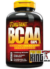 MUTANT BCAA 400 CAPS BRANCHED CHAIN AMINO ACID PROTEIN RECOVERY optimum  ALLMAX