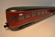 Accucraft AL34-377 1 Gauge Norfolk & Western Observation Car Maroon