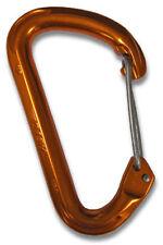 Omega Pacific Dash Wiregate Carabiner - Cinder