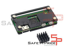 Carcasa Raspberry Pi Zero y W negra acrilica dispador GPIO shell case