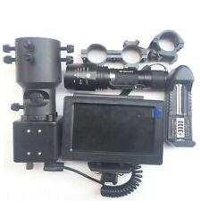 DIY Night Vision Rifle Scope&IR Torch and Monitor IR Laser Torch Mount fr Hunter