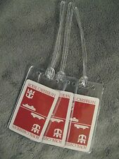 Royal Caribbean Cruise Lines Ship Vintage Red Playing Card Luggage Name Tag Tags