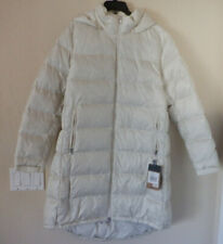 The North Face Metropolis Parka III 550 Vintage White Down Hood Size XL New