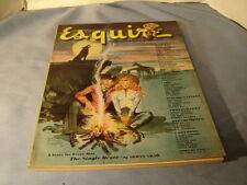 Vintage 1947 Esquire Magazine Pin Ups Al Moore Fritz Willis Ben Hur Baz De Mers