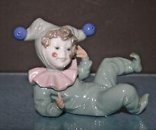 Nao Lladro Harlequin Jangles #1066 Clown figurine Excellent