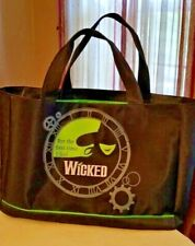 Broadway's Wicked Elphaba Tote Black Bag - Brand New - Never Used