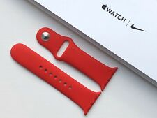 NEW GENUINE APPLE WATCH SPORT BAND 38/40mm (PRODUCT) RED
