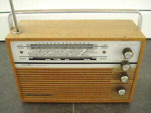 SCHAUB LORENZ RADIO AMIGO AUTOMATIK TYP:121 051 HOLZ-GEHÄUSE 60er JAHRE