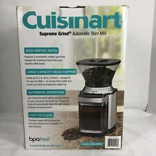 Cuisinart Supreme Grind Automatic Burr Mill Coffee Grinder Model New In Box