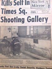 New York Mirror Magazine Times Square Shooting Gallery January 1958 102317nonrh2