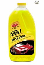 Formula 1 Carnauba Car Wash and Wax 64 oz, Case of 6