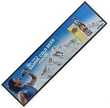 Coors Light Damme Cold Large Bar Wetstop Runner  900mm x 240mm   (pp)